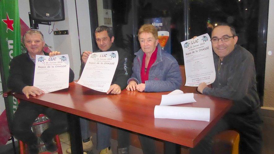 Les membres du bureau de l'ACCA autour du président Laurent Doumayzel.