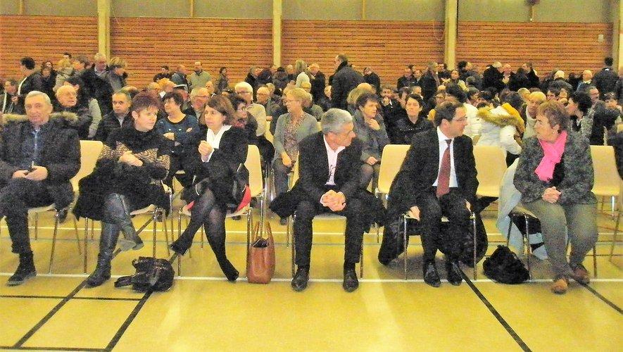 Beaucoup de monde pour les voeux à la salle polyvalente du Monastère