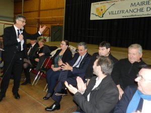 Serge Roques a salué la présence parmi les invités à ses vœux de Pascale Rodrigo, sous-préfète ; Jean-François Galliard, président du conseil départemental ; Anne Blanc, députée, et Jean-Claude Luche, sénateur.