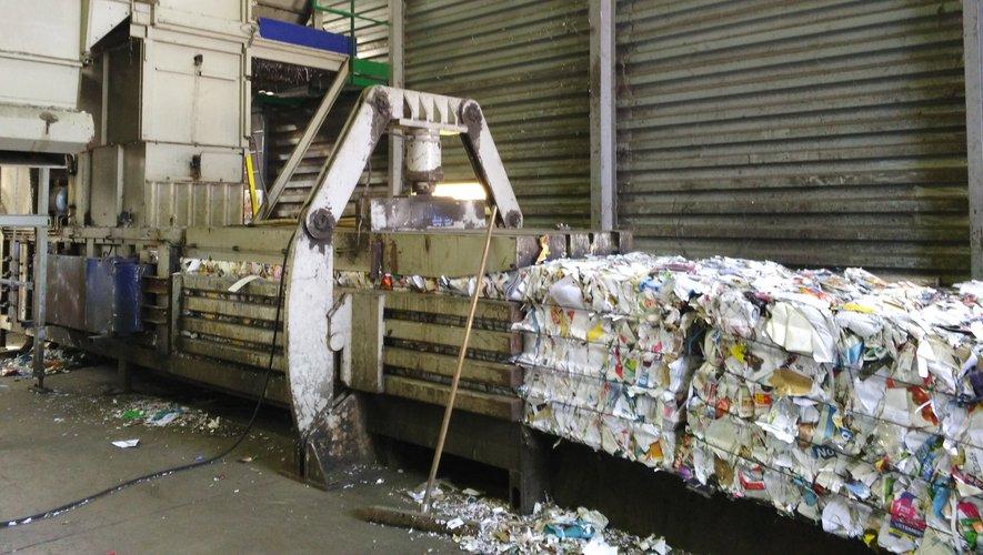 Le centre de tri de Millau devra être en capacité de traiter l'ensemble des déchets aveyronnais.
