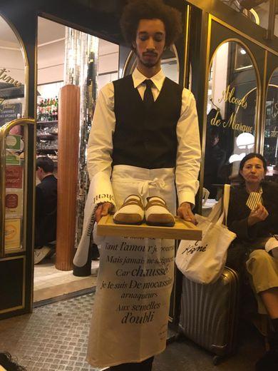 Présentation J.M. Weston à Paris.