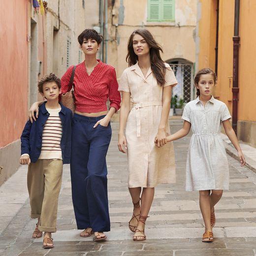 La nouvelle collection signée Uniqlo et Ines de la Fressange s'articule autour de la ville de Saint-Tropez.