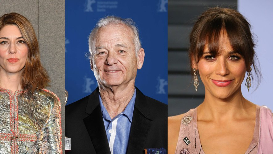 "Sofia Coppola (à gauche) dirigera Bill Murray et Rashida Jones (à droite) dans ""On the Rocks"""