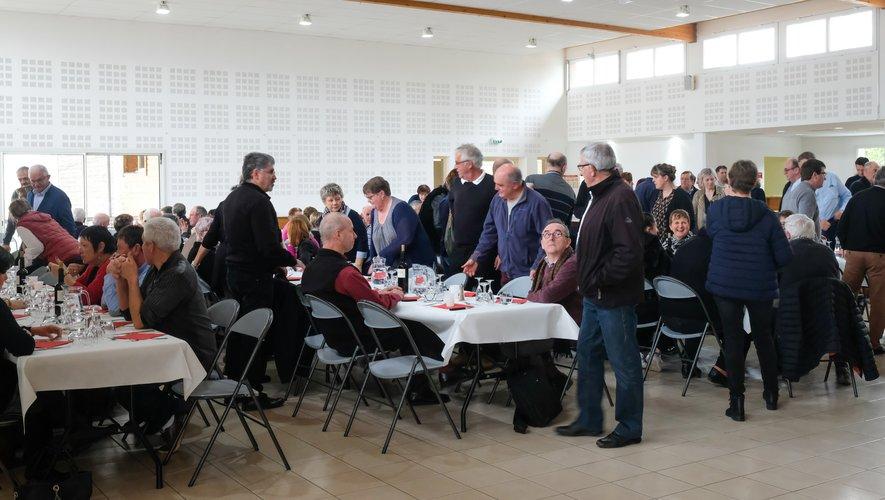 Dimanche 13 janvier : repas de bénévoles à l'initiative du comité de la foire-expo du Haut Ségala.