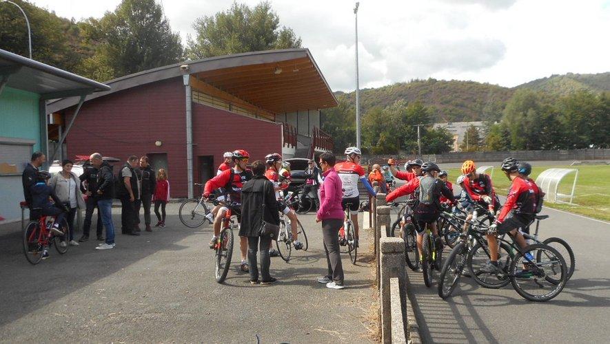La piste cyclable du Crouzet est idéale pour les jeunes débutants.