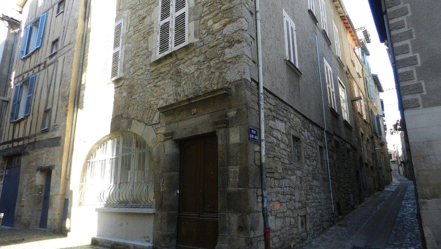 La maison de l'occitan pourrait être implantée au 20, rue Pomairols, dans un immeuble légué à la commune par sa propriétaire.
