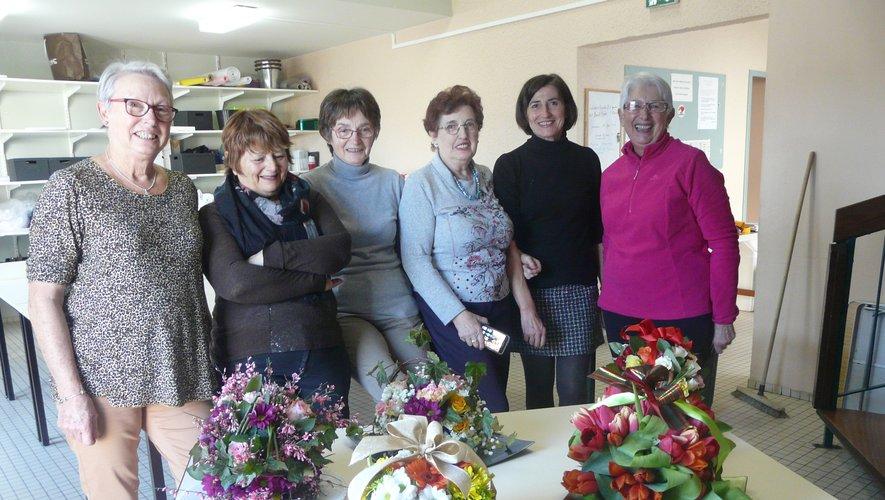 Un atelier d'art Floral en direct du Groupe  Ecole Quartier (Gaeq)