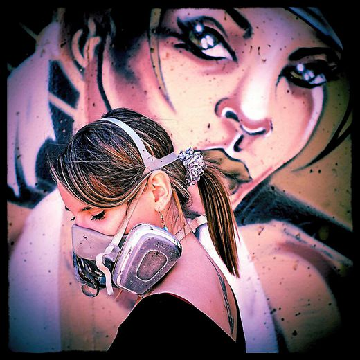 """Wuna : """"Le graffiti m'a ouvert une porte sur le monde"""""""