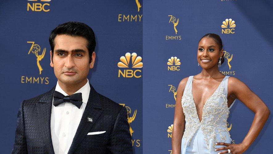 """Issa Rae (à droite) donnera la réplique à Kumail Nanjiani dans la comédie """"The Lovebirds"""""""