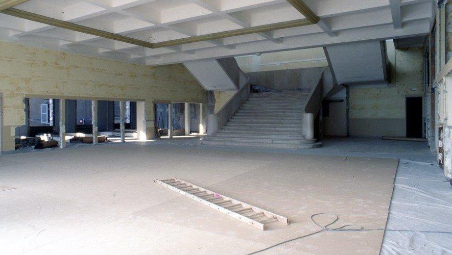 Démolition partielle et modernisation à l'ordre du jour en 1992.