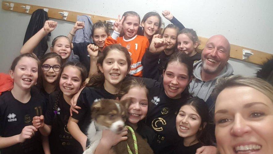 Handball : une victoire convaincante pour les 11 ans féminines !