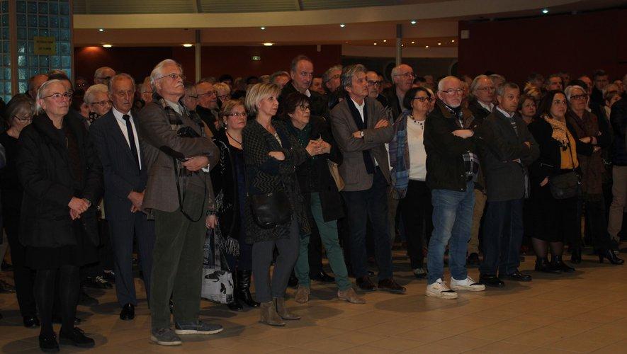 Un auditoire particulièrement attentif aux propos de la députée de la 2e circonscription de l'Aveyron.