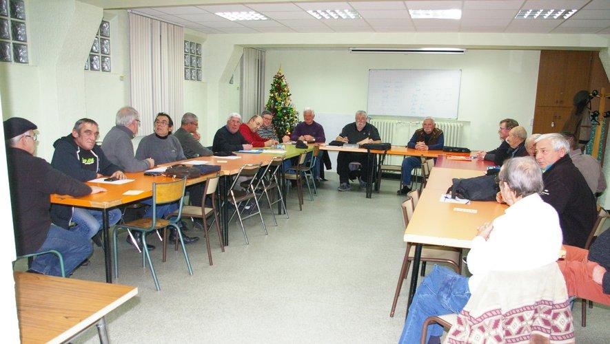 Les pêcheurs ont préparé leur assemblée générale à Aubin, salle François-Fabié.