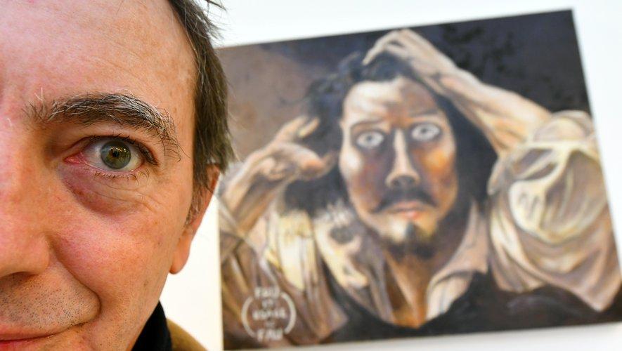 Jean-Luc Fau dans ses oeuvres.