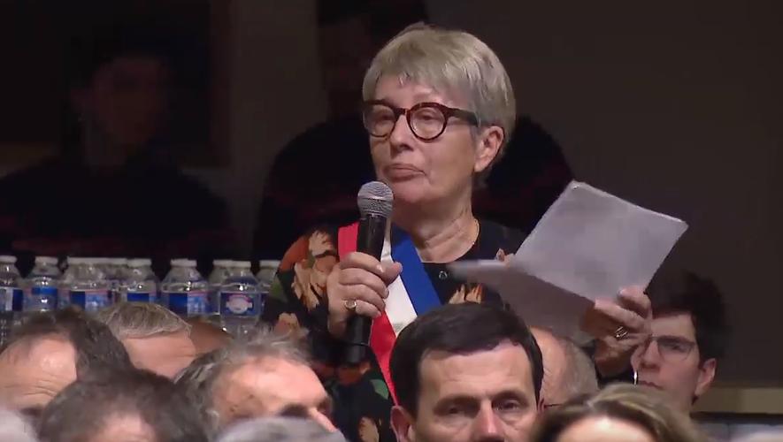 « En général, je n'aime pas du tout parler en public », sourit Chistiane Marfin au lendemain de son intervention face à Emmanuel Macron.