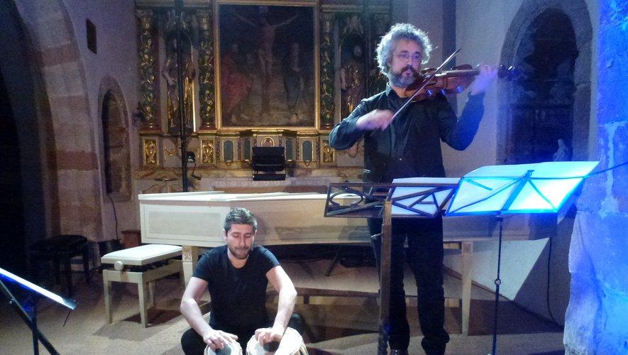 Nicolas Billi et Christian Clavère en première partie.