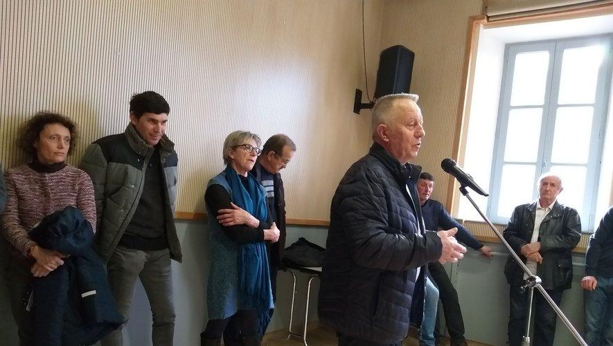 André Dalet a évoqué les dossiers en cours./Photo DDM.