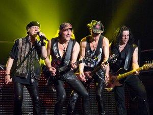 Scorpions, groupe phare de la scène hard rock des années 70-80.