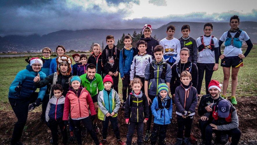 Les jeunes traileurs bénéficient, avec l'école millavoise, d'un encadrement de qualité.