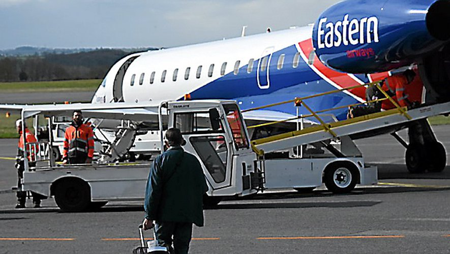 Eastern Airways assure la liaison Rodez-Paris depuis 2015.