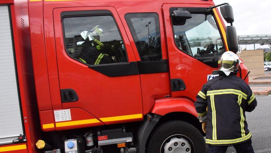 Début d'incendie et accident de la route ce mardi matin parmi les interventions des pompiers.