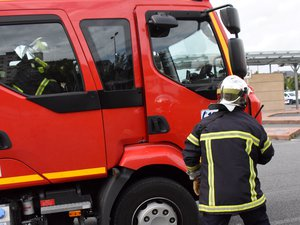 Les sapeurs-pompiers ont rapidement sécurisé le transformateur.