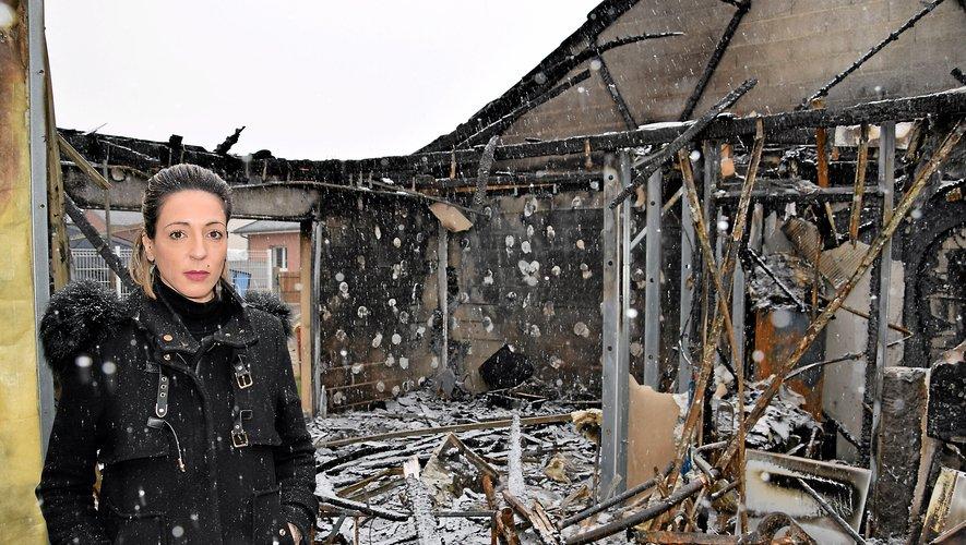 Magali et ses deux enfants étaient locataires de ce logement depuis plus de 8 ans. Aujourd'hui, il n'en reste plus rien…