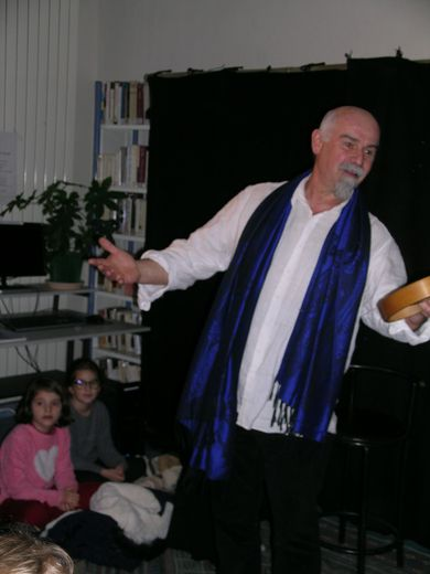 Michel Galaret un conteur talentueux.