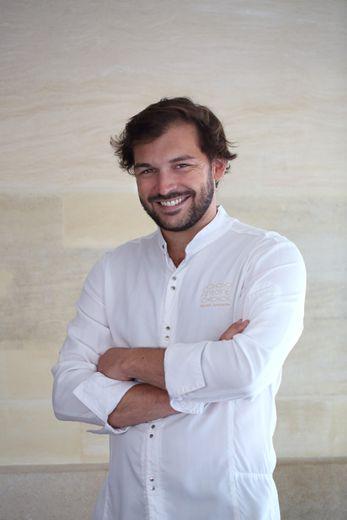 Thibault Sombardier est le chef du restaurant Antoine à Paris