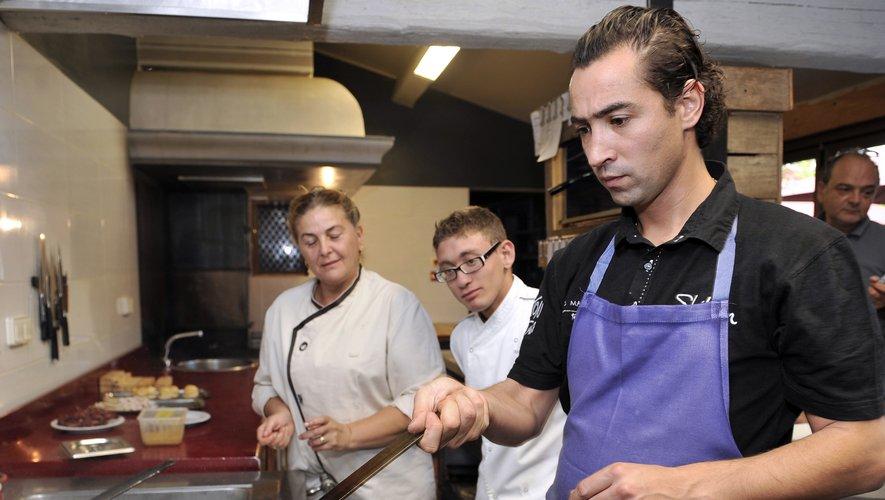 """Pierre Augé a été finaliste de l'émission """"Top Chef"""" en 2010"""