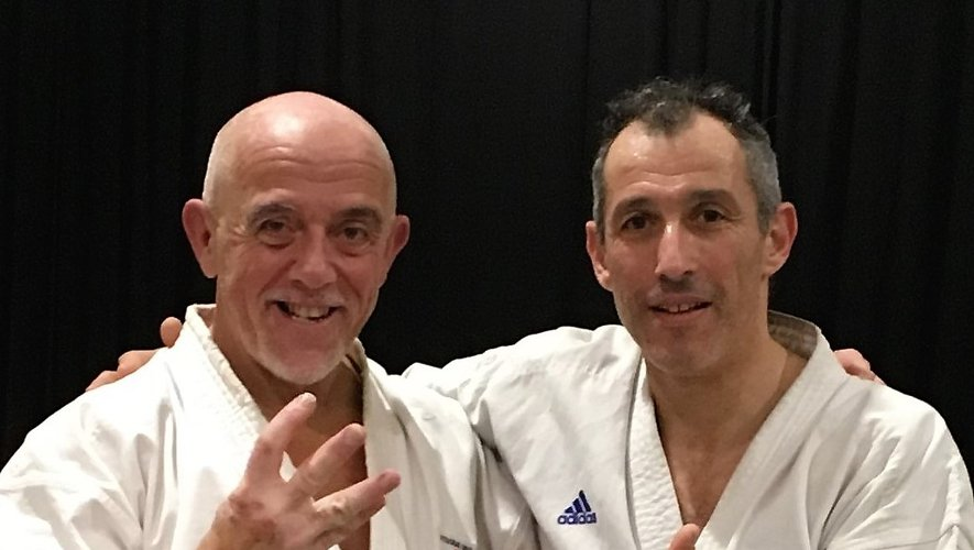 Bernard Albouy (à gauche).