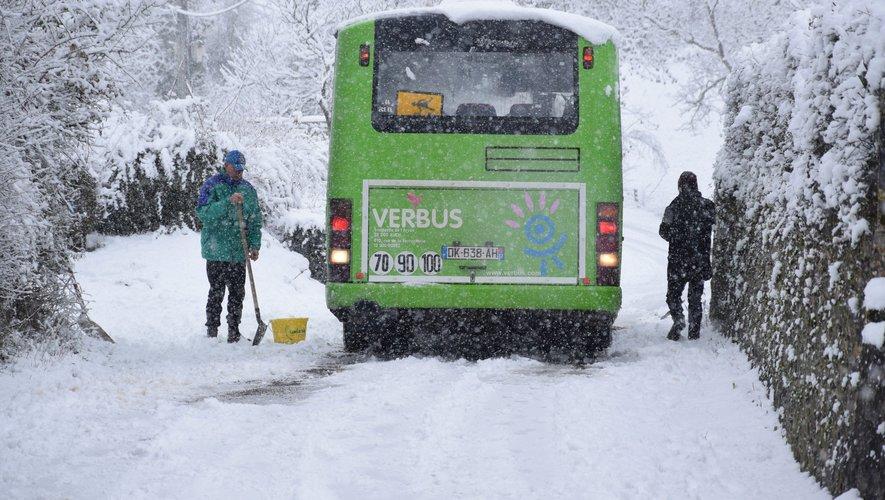 Les transports scolaires ont été fortement perturbés ce matin.