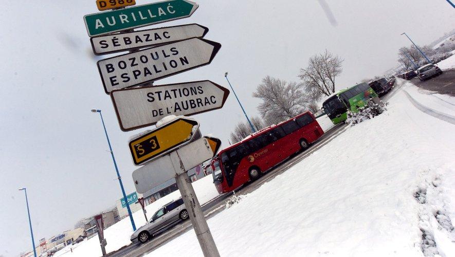 La Région a décidé de maintenir les transports demain mardi.