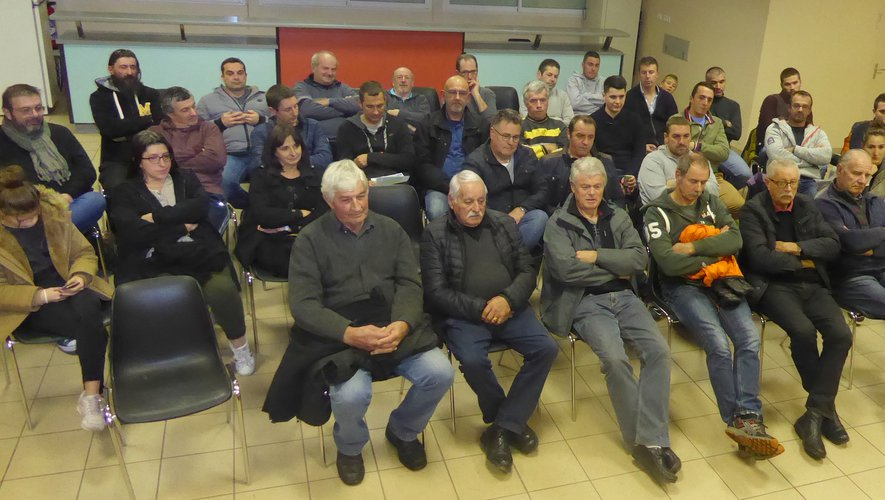 Les licenciés du Sport quilles Luc à cette assemblée générale à « L'Oustal ».