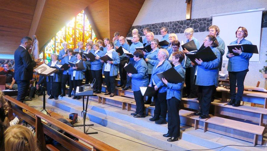 Les chœurs de l'Aubrac à la chapelle