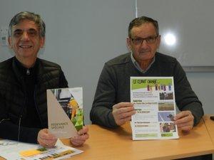 Serge Roques et Michel Delpech soulignent la prise de conscience des élus en matière de transition énergétique. Ils veulent maintenant convaincre les citoyens avec plusieurs actions de sensibilisation.