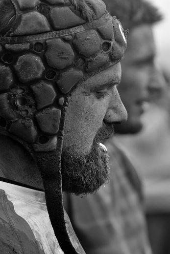 """Conditions difficiles pour les joueurs de LSA XV, qui sont finalement venus """"à boue"""" de Pamiers dimanche à Réquista."""