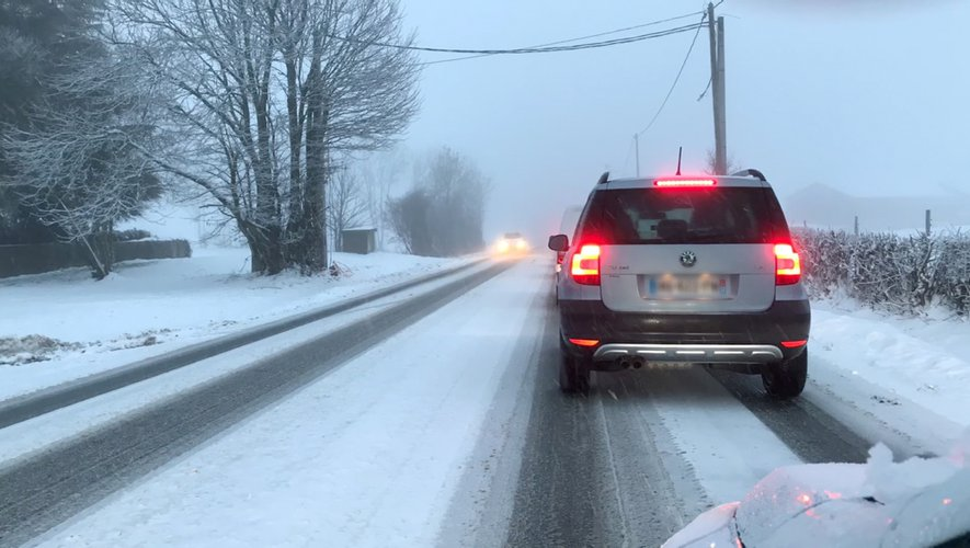 Peu avant 18 heures sur la RN88 à Baraqueville, les voitures roulaient déjà au pas.