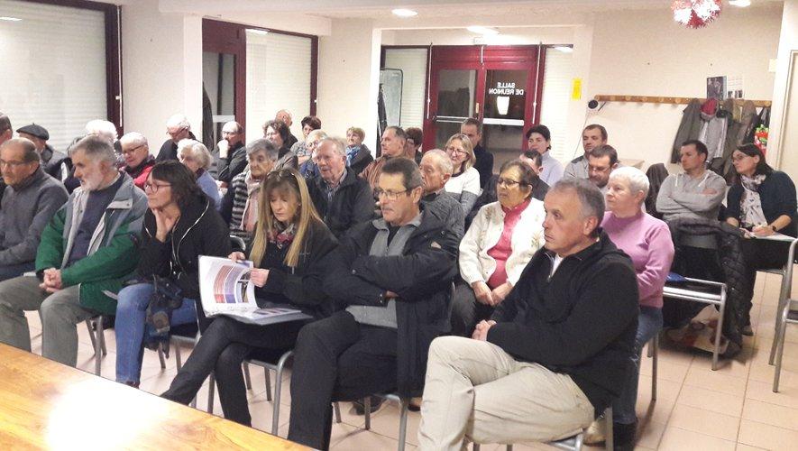 Par leur nombre à l'assemblée générale, les Alrançais ont prouvé leur intérêt pour la sauvegarde de leur patrimoine.