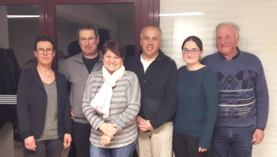 Le nouveau bureau a chaleureusement remercié Michèle Caillol pour ses années de dévouement