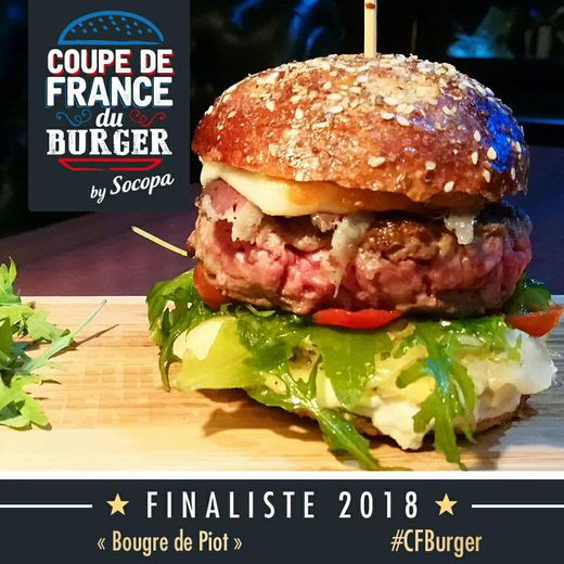 "Le ""Bougre de piot"", finaliste 2018. Cocorico !"