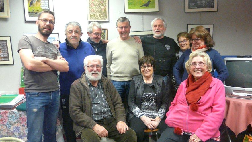 Les membres de la Compagnie des Arts se retrouvent régulièrement.
