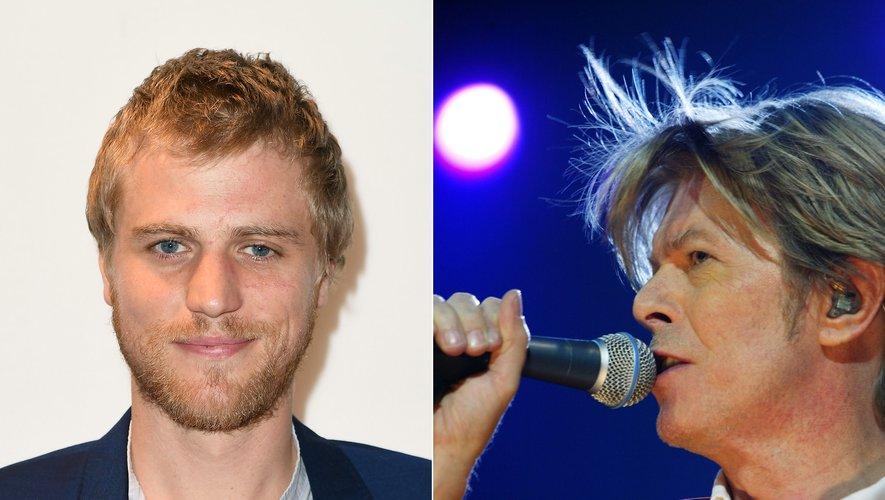 Le chanteur britannique David Bowie, décédé le 10 janvier 2016 à la suite d'une longue maladie, sera incarné au cinéma par Johnny Flynn (à gauche)