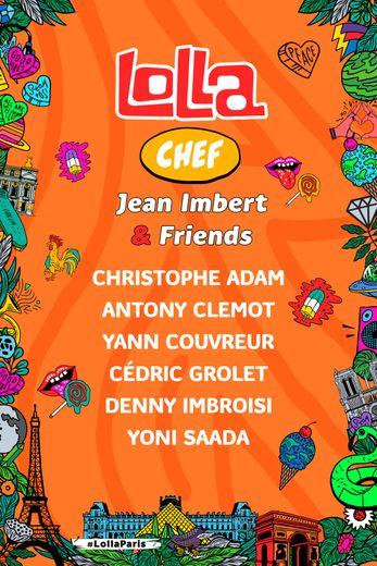 Jean Imbert rempile pour une troisième édition au festival Lollapalooza