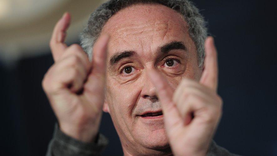 Le chef espagnol Ferran Adria