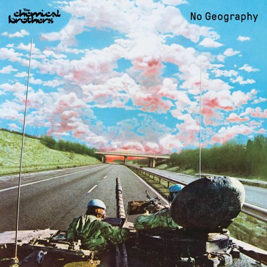 """No Geography"" de The Chemical Brothers paraîtra le 12 avril."