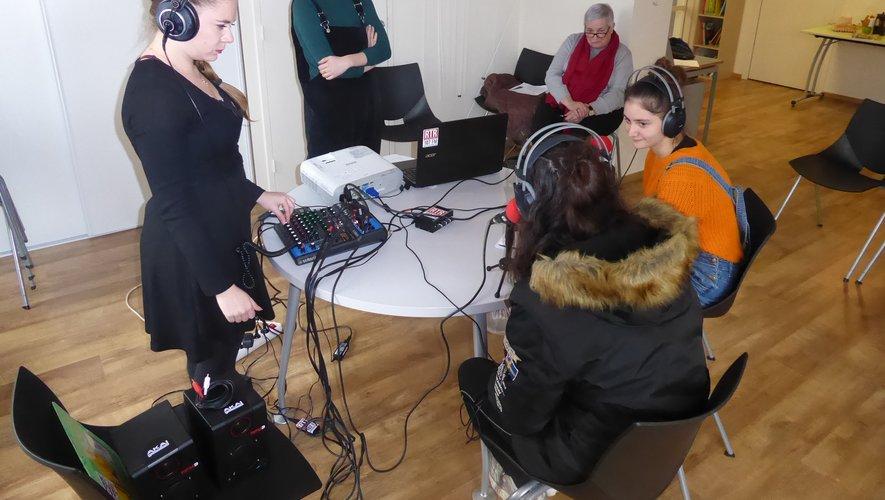 Les ados ont découvert le monde de la radio