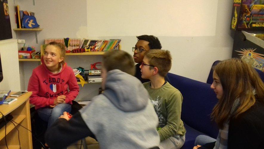 Les jeux vidéos participent à l'animation  de l'Espace jeunes.