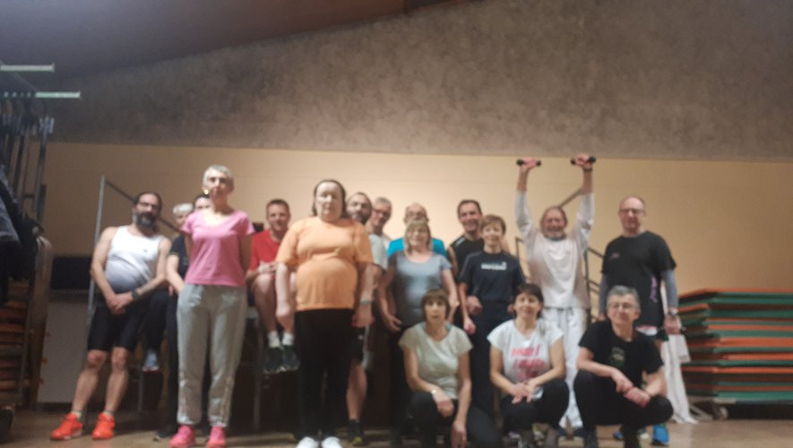 Le club de gym toujours en forme
