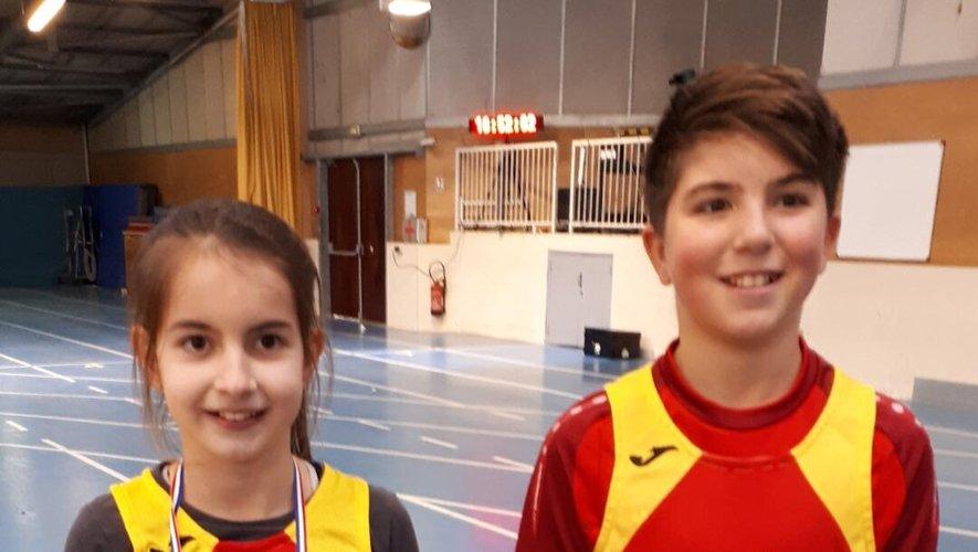 Qu'est-ce qui fait courir Gwladys et Louis, champions d'Aveyron, benjamine et benjamin.